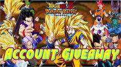 DragonBall Z Dokkan Battle SS3 Vegeta And SS3 Goku and Many More Account...