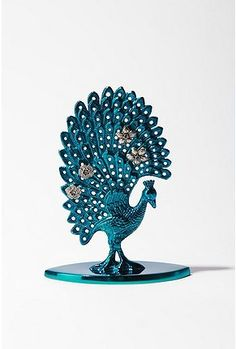 Peacock Earring Holder from Urban Outfitters