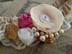 Lovely Heirloom Wedding Garter Set by CherryBlosomBoutique on Etsy, $49.95