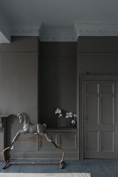 Mole's Breath Farrow and Ball The Best Paint Colors: 10 Farrow & Ball Not-Boring Neutrals Interior Door Trim, Painted Interior Doors, Best Interior Paint, Interior Paint Colors, Interior Design, Interior Painting, Painting Doors, Painting Tips, Painting Techniques