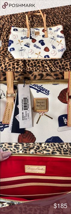 Los Angeles Dooney Bourke Shopper Tote Brand new with tags, I sold another one before on posh but that one was my moms. Now I'll decided to sell mine too. Dooney & Bourke Bags Totes