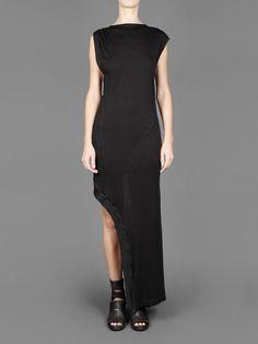LOST&FOUND LAYERED DRESS WITH OPEN SIDE SPLIT Antonioli Online Boutique