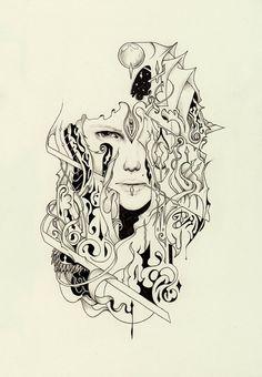 A Bride's Sentence  original artwork  Reece Hobbins, $60.00