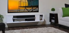 Resemblance of Floating Media Console: A Way to Display Your TV with Pride