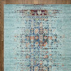Icy Blue Area Rug