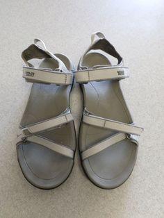 Teva Gray Sport Sandals Women's 8 (eur 39) #Teva #SportSandals