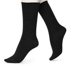 Hue Jeans Sock- Black Sock