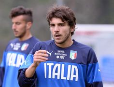 Alberto Paloschi of Italy during Italy Training Camp - Day 2 at Acqua Acetosa on March 11, 2014 in Rome, Italy.