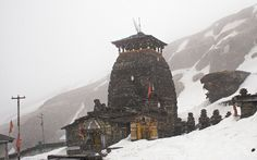 Temple of Tungnath, the highest temple in the world #tungnath #himalayas