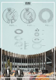 The Best Designs Collections - Top 40 Minimal Portfolio Websites Architecture Student Portfolio, Architecture Collage, Architecture Visualization, Architecture Graphics, Architecture Board, Architecture Details, Concept Architecture, Landscape Architecture, Interior Architecture