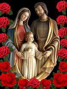 Pictures Of Jesus Christ, Religious Pictures, Bible Pictures, Religious Art, Jesus And Mary Pictures, Mother Mary Images, Images Of Mary, Blessed Mother Mary, Blessed Virgin Mary