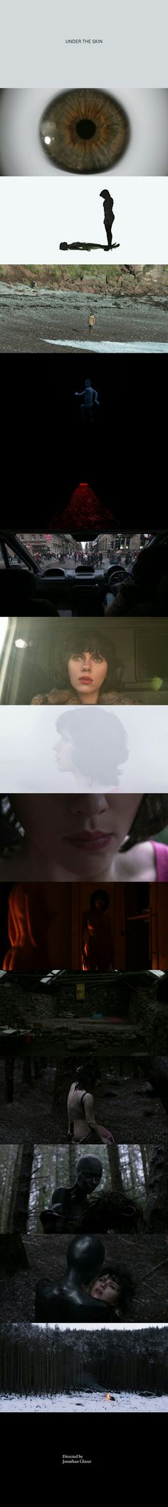 Under The Skin (2013) Directed by Jonathan Glazer.