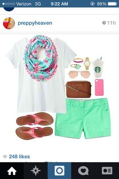 chinos, starbucks, lilly= perfection
