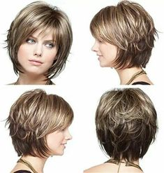 2019 Bayan Kısa Saç Kesim Modelleri 2019 Women Short Hair Cut Models – Beautiful Words Related Charming Curly Hairstyles For All Hair Lengths Layered Short Haircuts to Rock the Popular Pixie And Bob Short Hair Styles for Summer Bob Hairstyles For Fine Hair, Short Hairstyles For Women, Hairstyles Haircuts, Short Haircuts, School Hairstyles, Layered Haircuts, Graduation Hairstyles, Haircut Short, Wedding Hairstyles