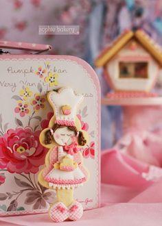 PÂTISSERIE: Galletas decoradas con glasa y papel de azúcar y visita al Taller de Megasilvita