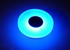#Aluminium #Wandlampe Effekt weiss 1 Watt Power #LED