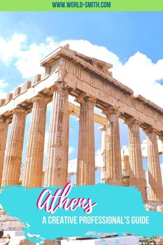 Creative Professionals' Guide to Athens | Where to stay in Athens | What to do in Athens | Things to do in Athens | Artsy things to do in Athens | Where to work in Athens | Digital nomad in Athens | Where to eat in Athens | How to get around Athens