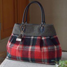 赤いバッグ① けっこう赤が好きかもしれない。