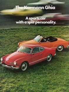 1974 Karmann Ghia Ad