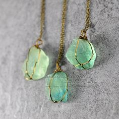 Hey, I found this really awesome Etsy listing at https://www.etsy.com/listing/228126644/raw-fluorite-necklace-green-fluorite