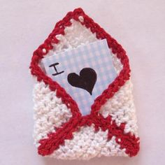 project is perfect for winter evenings by the fire, as you think of doing something special for those you love. It is very quick and simple to crochet! It's also a great project for those who are new to using fingering yarn. Finish it off by making a tiny card to tuck inside for someone special in your life. I