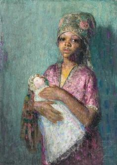 Hovsep Pushman, The Little Mother