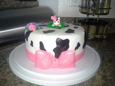 Made and decorated by me..cow princess