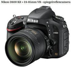 Schitterende Digitale Reflexcamera, Nikon D600 24-85 mm, lekker mee de natuur in :) , > > Link: http://www.bol.com