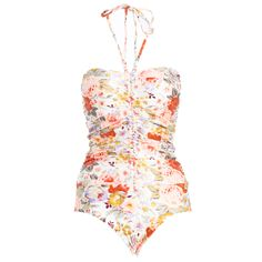Locket ruched swimsuit