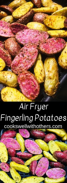 Air Fryer Fingerling Potatoes #airfryer #airfryerrecipes...