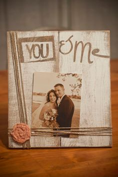 Rustic wooden picture frame by JoelleMorrisDesigns on Etsy