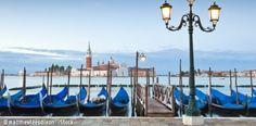 Italien Venedig Gondeln