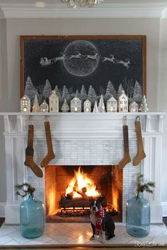 Welcome to my Theres No Place Like Home Christmas Home Tour. Ive been decking and trimming and drinking spiked eggnog and Im excited to share my new cheery Christmas home tour and decorating ideas. Once christmas holiday ideas Christmas Time Is Here, Merry Little Christmas, Noel Christmas, Winter Christmas, Vintage Christmas, Christmas 2019, Christmas Ideas, Christmas Cactus, Christmas Vacation