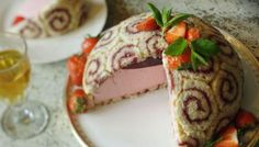 This fancy and pleasingly retro dessert can be made ahead of time - it's great for a grown-up birthday party.