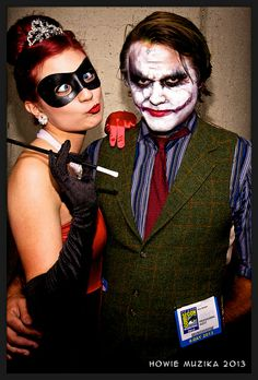 HARLEY QUINN & THE JOKER #SDCC2013