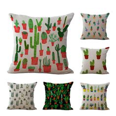 If you think the cactus trend is over, think again. This spring and summer find cute cacti prints on shirts and swimsuits or decorate your home with some lovely pillows and bedding. The more the me...