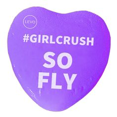 No description needed. She's just one fly lady. Let her know with this #GirlCrush Valentine! | Share the #levolove for Valentine's Day!