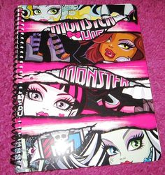 Monster High Spiral Notebook School Supplies