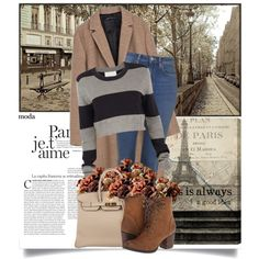 Paris est toujours Paris by danielle-broekhuizen on Polyvore featuring polyvore fashion style A.L.C. Zara Madden Girl Hermès Oliver Gal Artist Co. Universal Lighting and Decor casual paris casualoutfit brown toujours