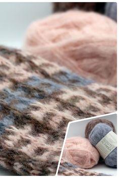 🅦🅔🅡🅑🅤🅝🅖 Einen ganz besonders flauschigen Look erhält #setnetzwerk übrigens mit #borstetalpakka von @sandnesgarn. Der Schal ist federleicht und erhält einen frischen, modernen Look. Zudem strickt sich das Set ruck-zuck, da mit großer Nadel gearbeitet wird.