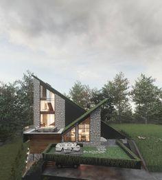 Villa, Cabin, House Styles, Design, Home Decor, Decoration Home, Room Decor, Cabins