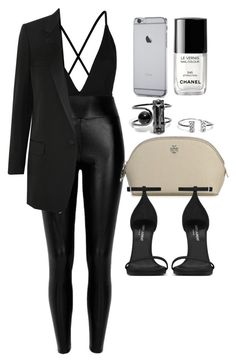 """""""Style #10271"""" by vany-alvarado ❤ liked on Polyvore featuring Oh My Love, Yves Saint Laurent, Tory Burch and Chanel"""