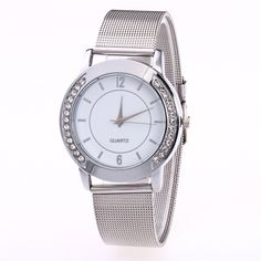 Watch Luxury Fashion Women Crystal Golden Stainless Steel Analog Quartz Wrist Watch Bracelet Relogio Feminino Hot Sale M1 #Affiliate