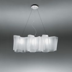 Logico Triple Linear Suspension Ceiling Light by Artemide- the lamp in our conference tlk may ecosafe