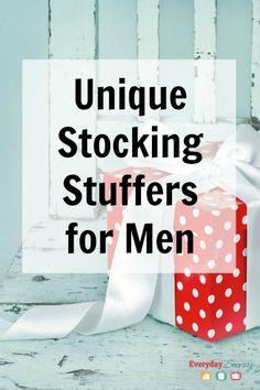 Unique Stocking Stuffers for Men
