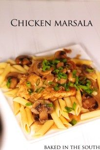 I love chicken marsala and this is by far the best recipe out there:)  Don't get intimidated when making meals like Marsala or Piccata.  They really aren't that difficult if you just learn the basics.  Pound the chicken thin, bread in flour and saute in oil & butter.  It couldn't be easier once you get …