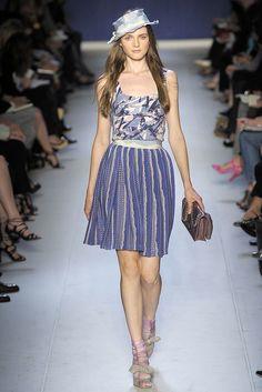 Moschino Cheap And Chic Spring 2009 Ready-to-Wear Fashion Show - Angelika Kocheva