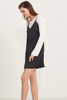 Slip up and get noticed - Slip Dress