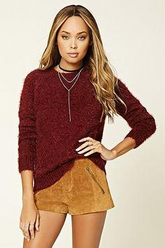Knit Raglan Sweater