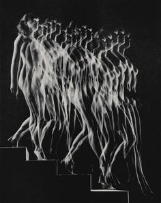 Gjon Mili | Nude Descending Staircase (Variant) (1942), Available for Sale | Artsy in PHOTO
